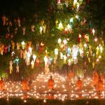 チェンマイの空が光で埋め尽くされる夜 〜ロイクラトン(イーペン)祭り〜
