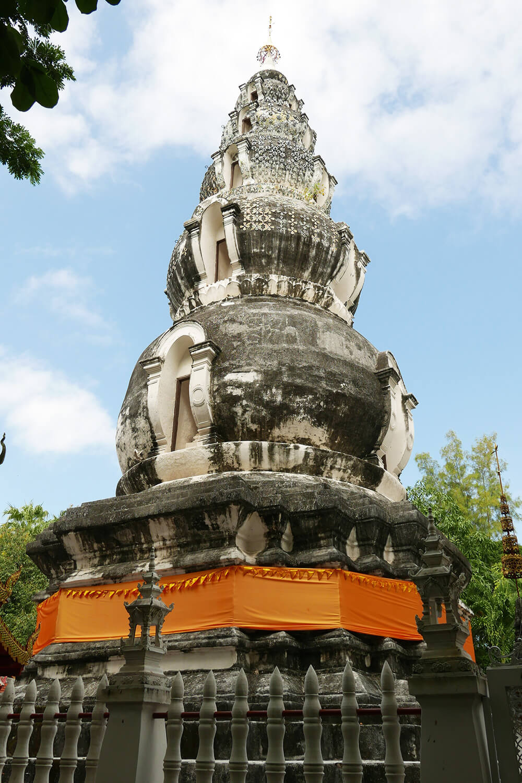 タイ・チェンマイの寺院 ワットクータオ Wat Ku Tao 建物
