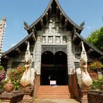 アーチ型の素敵な門〜ワット ローク モーリー Wat Lok Molee〜