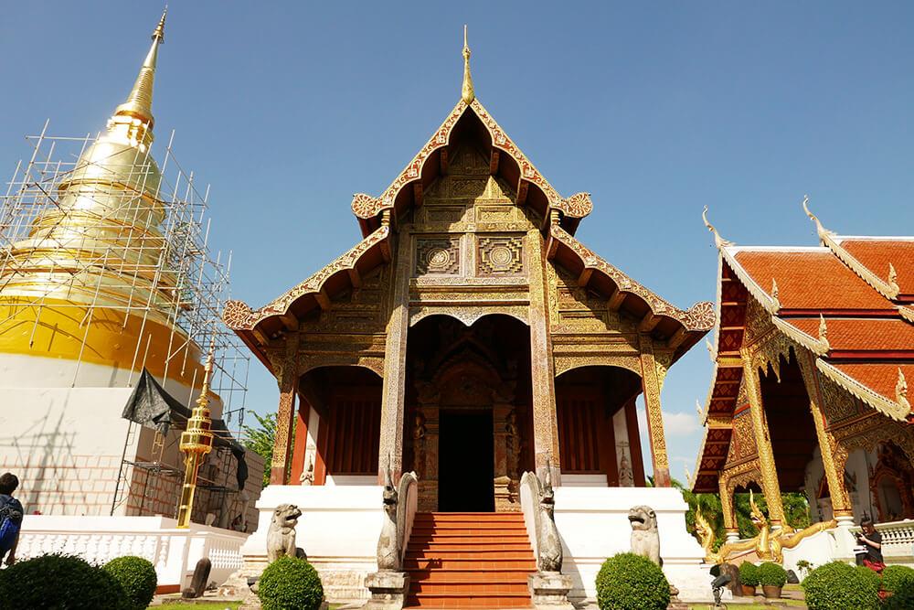 タイ・チェンマイの寺院 ワット・プラシン Wat Phra Singh ライカム礼拝堂