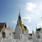 チェンマイで最も美しい寺院〜ワット・スアン・ドーク Wat Suan Dok (Wat Bubharam)〜