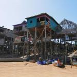 湖に浮ぶ村 フローティングビレッジ Kompong Phluk