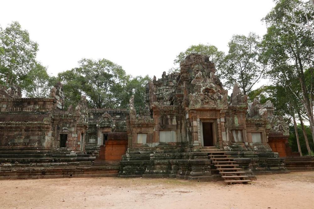 カンボジア・シェムリアップ世界遺産Thommanon トマノン